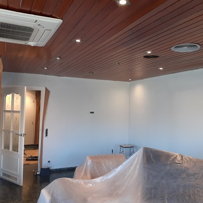 Alisar paredes e pintura