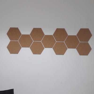corchos decorativo en pared