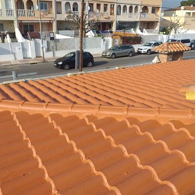 Impermeabilización  de tejado tradicional