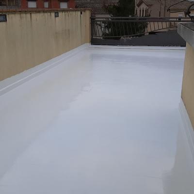 Terraza impermeabilización