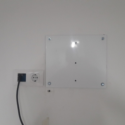 Montaje televisor en pared de pladur