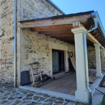Rehabilitación casa piedra