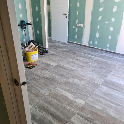 Reforma Anexo suelo cerámica
