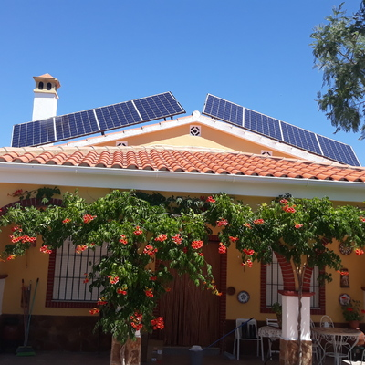 Energía solar para viviendas aisladas