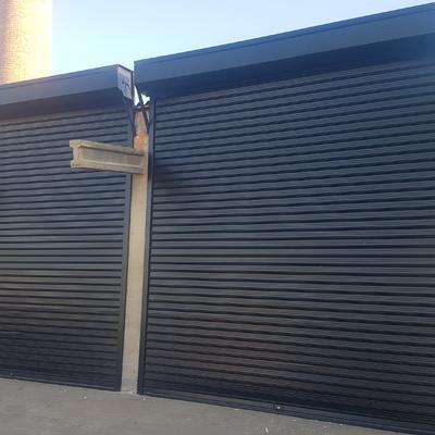 Puerta enrollable industrial