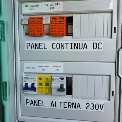 Instalacion solar fotovoltaica 8kW