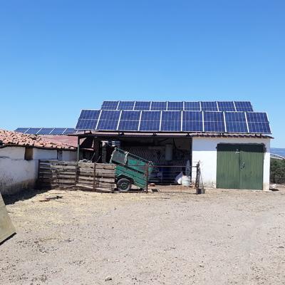 Energia solar para instalaciones agropecuarias.