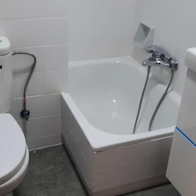 baño después de obra