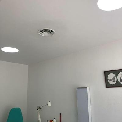 Downligh en clínica dental