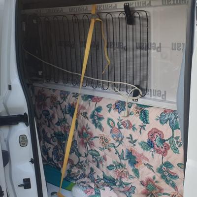 Traslado de 2 congeladores