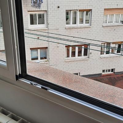ventana del baño
