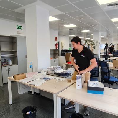 Empaquetado de archivos de oficina