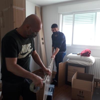 Desmontaje de habitación