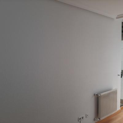 Pintura de interior de piso