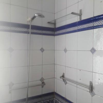 Cojederos para ingreso a ducha