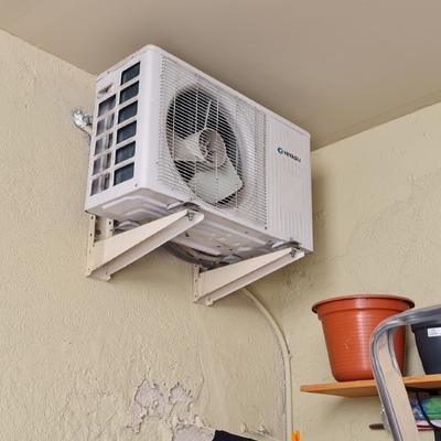 Cambio de aire acondicionado antiguo