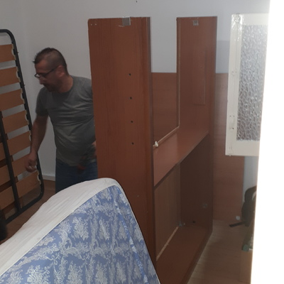 Montaje cama tipo canapé