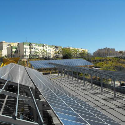 Instalación Fotovoltaica sobre Marquesina