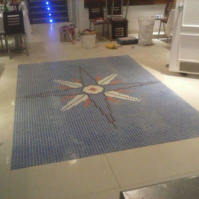 Mosaico de gresite