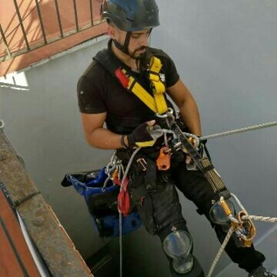 Descuelge trabajos verticales