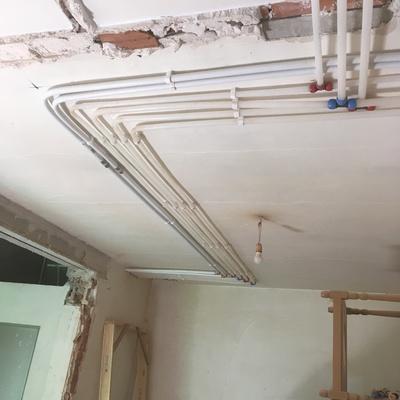 Instalación de fontanería y calefacción