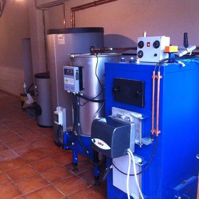 Calefacción de multicombustible
