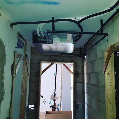 Instalacion aire acondicionado por Conductos