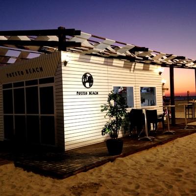 """Chiringuito """"Potito Beach"""" en Playa de Cádiz"""