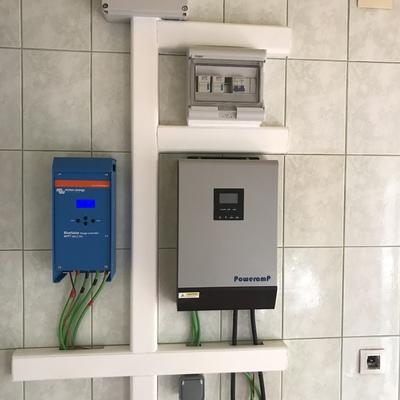 Instalación 3500w en vivienda unifamiliar