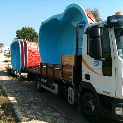 Transporte de Piscinas iGUi