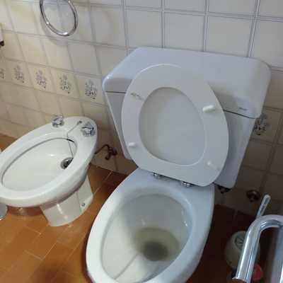 Foto 2 baños el Antes