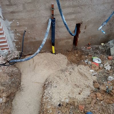Instalacion de gas enterrado