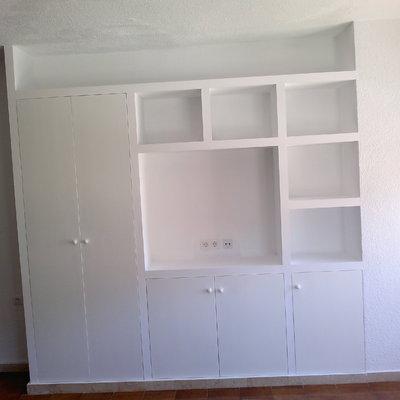 Mueble pladur acabado