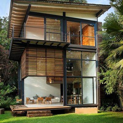 casa de acero