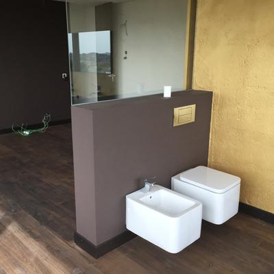Baño nueva construcción.