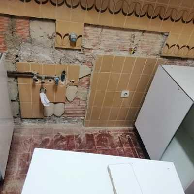 Desmontaje cocina
