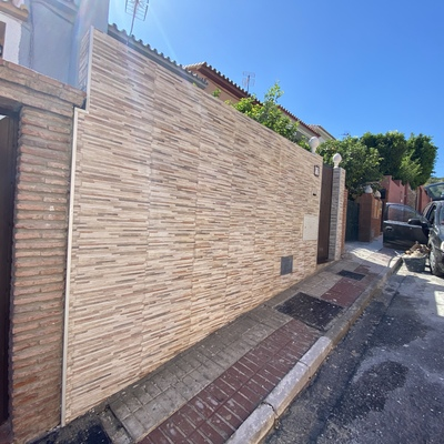Remodelación de frente de vivienda