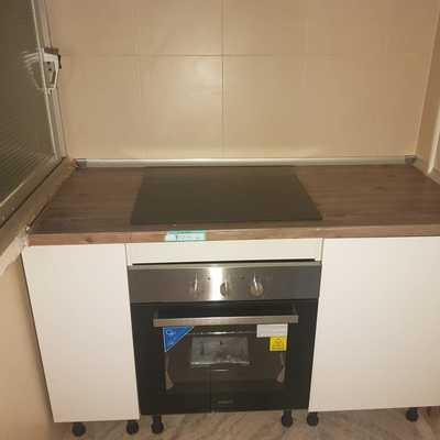 Colocación de horno y vitro