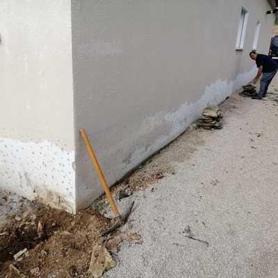 Retirada de piedra de fachada