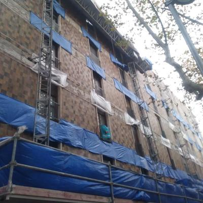 Reforma fachada Barcelona