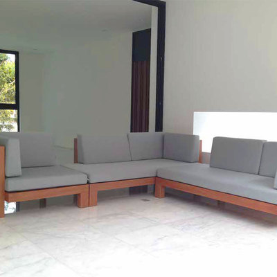 Mobiliario diseñado y fabricado para una villa (Santo Domingo, República Dominicana)