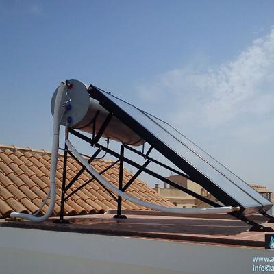 300 litros tejado plano