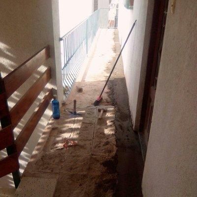 Reformas balcones en Comaruga