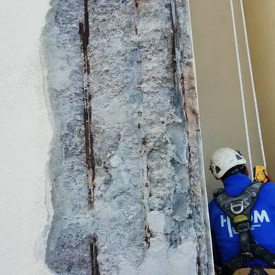 reparacion de chimenea y pintado