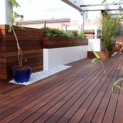 Tarima exterior ipe terraza