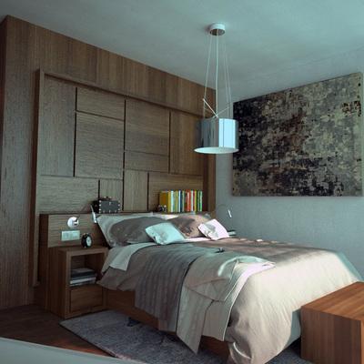 Infografía de diseño de dormitorio principal