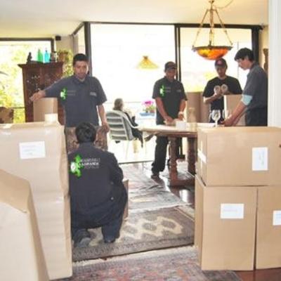 Embalaje de enseres y mobiliarios