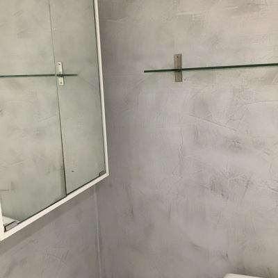 Renovar sin obra Microcemento sobre azulejos