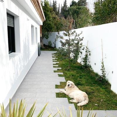 Jardín perimetral