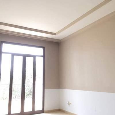 Pintura decorativa en habitacion